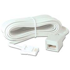 NEU 10 M BT Festnetz Telephon Verlängerungskabel für Telefon Fax Modem Breitband