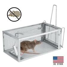 Humane Rat Trap Cage Small Live Animal Pest Rodent Mouse Control Catch Hunting