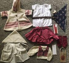 American Girl Kirsten Coat Dirndl Felicity Work Apron Josefina Camisa Ribbons
