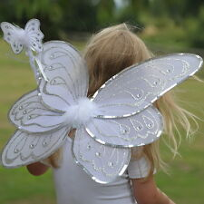 New Wings and Wand Fairies and Angels Set by Travis Designs-silver/white