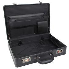 Briefcase Business Executive Travel Laptop Work Pilot Flight Bag Case Black 6923