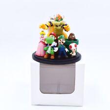 Nintendo Super Mario Bros Bowser Peach Yoshi Luigi Toad Goomba PVC Figure Statue