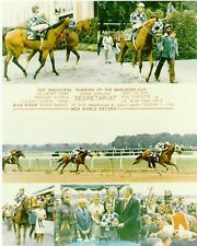 "1973 - SECRETARIAT - 6 Photo Marlboro Cup Composite - 8"" x 10"""