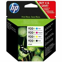 XL Genuine Original HP  920XL Black, Magenta, Yellow and Cyan Ink Cartridge XL