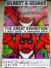 Gilbert & George Rare SIGNED Poster 2018 Great Exhibition Luma Arles