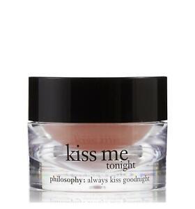NIB Philosophy Kiss Me Tonight Intense Moisturizing Lip Treatment Balm Full Size