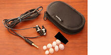Authentic Klipsch Image S4i II 2 Flat Cable Black Headphones -Upgraded Plug