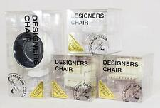 Japan Design Interior Collection 1/12 Scale - 4 Assorted miniature chairs