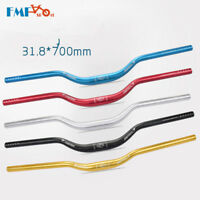 31.8*700 mm MTB Mountain Bike Bicycle Riser Handlebar Aluminum Alloy Handlebars