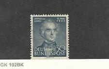 Germany, Postage Stamp, #695 Used, 1953 Justus Von Liebig