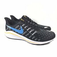 Nike Air Zoom Vomero 14 Black Blue White Running Shoes AH7857-008 Mens Size 10.5