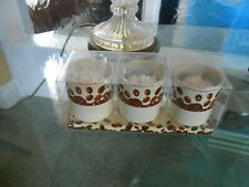 coffee cup candles x 3 lot new