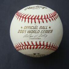 2001  RAWLINGS OFFICIAL World Series Ball ARIZONA DIAMONDBACKS