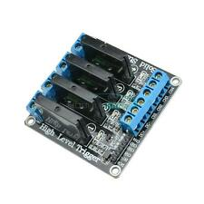 5V 4Channel OMRON SSR G3MB-202P Solid State Relay Module with Resistive Fuse