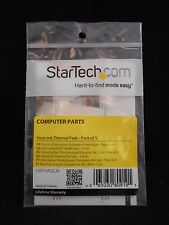 NEW STARTECH CPU/Chipset Heat Transfer Heatsink Thermal Pads (5 Pack)