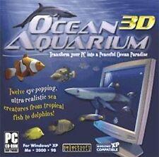 OCEAN AQUARIUM 3D  12 eye-popping ultra-realistic fish  Shark Dolphin Marlin NEW
