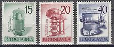 Jugoslawien / Jugoslavija 927-929** 1.jugoslawische Ausstellung für Kernenergie