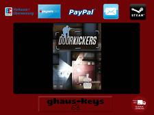 Door Kickers Steam Key Pc Game Code Neu Blitzversand