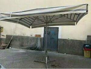 Ombrellone Professionale 320×440 Mt per Fiera O Mercato
