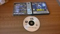 MediEvil PS1 Game Tested Boxed platinum Sony PlayStation 1 sword game Medevil