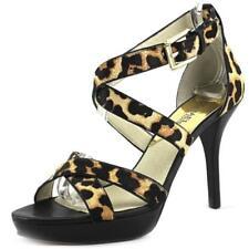 Zapatos de tacón de mujer Michael Kors de tacón alto (más que 7,5 cm) de color principal marrón