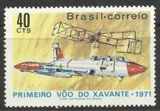 Timbres du Brésil sur l'aviation