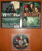 Piratas del Caribe: El cofre del Hombre Muerto [Disney DVD] Jhonny Depp, O.Bloom