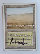SAVANA - SAVANNAH SIGNED -  MTG MAGIC