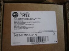 NEW ALLEN-BRADLEY 1492-IFM20D24N 20PT NARROW INTERFACE MODULE WITH LEDS