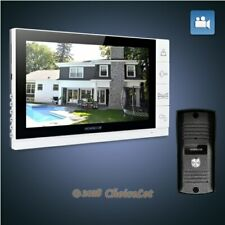 """HOMSECUR 9"""" Wired Hands-free Video Door Phone Intercom System+Outdoor Monitoring"""