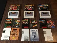 Donkey Kong Country 1 + 2 + 3 (Super Nintendo, SNES LOT) Complete - Tested