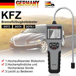 LCD BremsflüSsigkeitstester KFZ Intelligentes Auto-BremsflüSsigkeitsprüFer DHL
