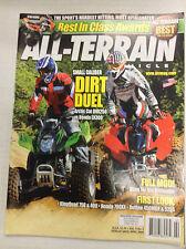 All-Terrain Magazine Arctic Cat DVX250 Honda EX300 April 2008 032717nonR