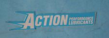 ADESIVO STICKER  MOTO SCOOTER LOGO FREGIO STEMMA ACTION PERFORMANCE LUBRIFICANTS