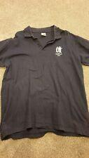 Genesis 2007 Polo Shirt M Medium Navy Blue Rare