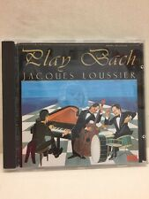 Play Bach Jacques Loussier