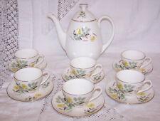 More details for adderley fine bone china coffee set pattern number  h1478