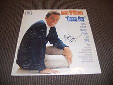 Andy Williams Signed Autographed Danny Boy LP Album PSA Guaranteed