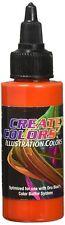 Createx orange 5054 illustration couleur orange 60 ml