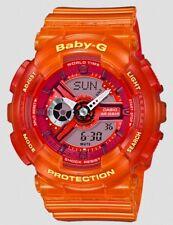 Casio Baby-G * BA110JM-4A Anadigi Jelly Marine Orange COD PayPal Ivanandsophia