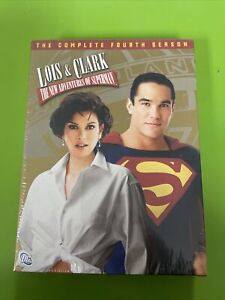 Brand New Sealed Lois And Clark - The Complete Fourth Season (DVD,6-Disc Set)