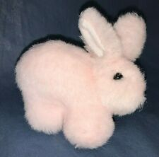 Miniature Pink Easter Bunny Rabbit Plush Stuffed Small Doll Toy Basket Gift