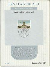 BRD/ Architektur-Denkmal MiNr 3033 ETB 34/2013