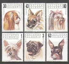 Bulgaria 1991 Dogs/Pets/Animals 6v set (b8233a)