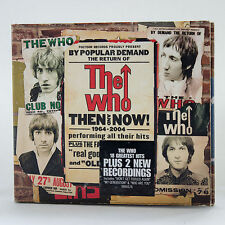 The Who - Then & Now 1964-2004 -  music 2 cd album plus booklet  (Digipak)