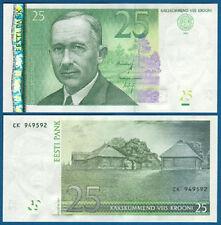 L'Estonia/Estonia 25 krooni 2007 UNC p.87 B