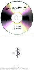 HATCHAM SOCIAL - Crocodile/Dissected (UK Fierce Panda 2 Tk DJ CD Single)