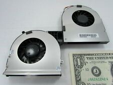 New Forcecon Dual Brushless Fans ATCW1024010 Toshiba Laptop FD03-CCW EFQ00 5V