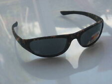 fishing polarised sunglasses wrap-around camouflage frames + FREE rigid case