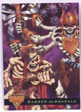 1995 Skeleton Warriors Luma Bones Dagger & Aracula Card